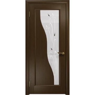Межкомнатная Дверь DioDoor Торино венге белое пескоструйное Рами