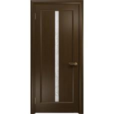 Дверь DioDoor Миланика-2 венге белое пескоструйное Миланика