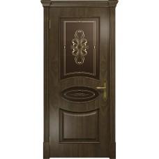 Дверь DioDoor Санремо американский орех бронзовое пескоструйное Вдохновение