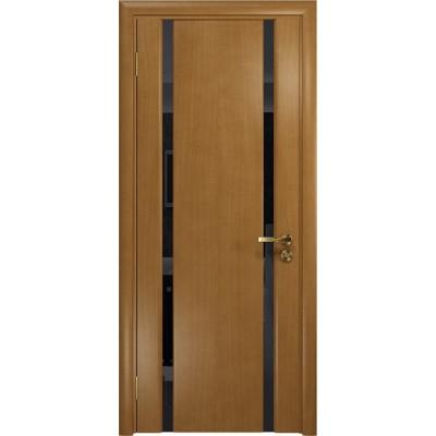 Межкомнатная Дверь DioDoor Триумф-2 анегри чёрный триплекс