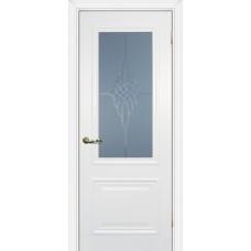 Дверь МариаМ Классик-1 Белый стекло