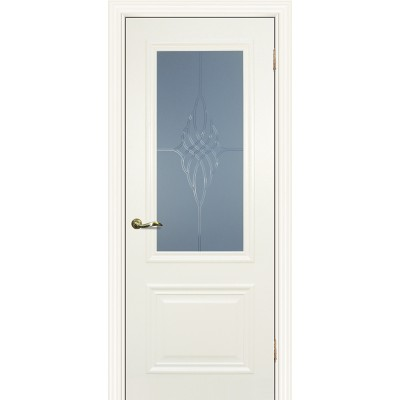 Межкомнатная Дверь МариаМ Классик-1 Магнолия стекло