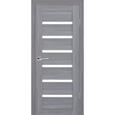 Дверь МариаМ модель Техно 607 Светло-серый мателюкс