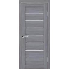 Дверь МариаМ модель Техно 608 Светло-серый мателюкс