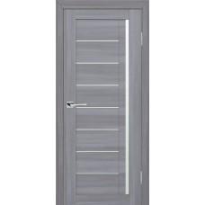 Дверь МариаМ модель Техно 641 Светло-серый мателюкс