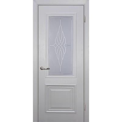Межкомнатная Дверь МариаМ Классик-1 Лунное дерево стекло