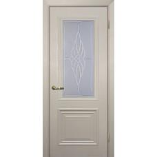 Дверь МариаМ Классик-1 Бланжевое дерево стекло