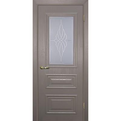 Межкомнатная Дверь МариаМ Классик-2 Каменное дерево стекло