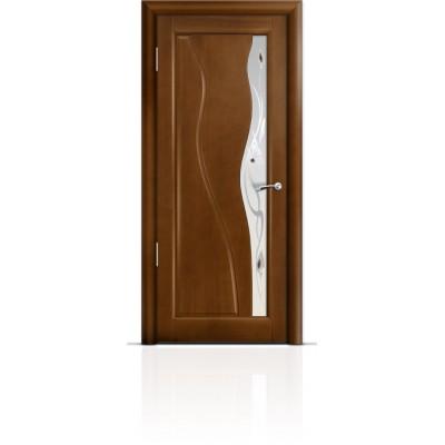 Межкомнатная Дверь Мильяна Ирен Анегри стекло белое Ирен