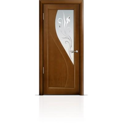 Межкомнатная Дверь Мильяна Яна Анегри стекло белое Яна