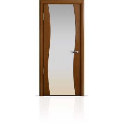 Межкомнатная Дверь Мильяна Омега Анегри триплекс белый
