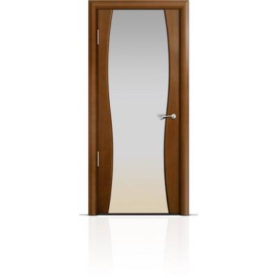 Межкомнатная Дверь Мильяна Омега-1 Анегри триплекс белый