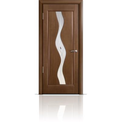 Межкомнатная Дверь Мильяна Веста Палисандр стекло Веста