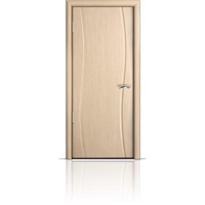 Межкомнатная Дверь Мильяна Омега Беленый дуб