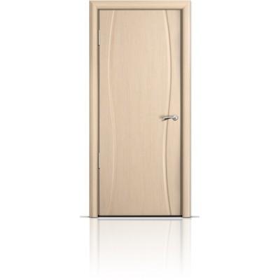 Межкомнатная Дверь Мильяна Омега-1 Беленый дуб