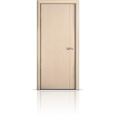 Межкомнатная Дверь Мильяна Омега-2 Беленый дуб