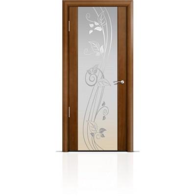 Межкомнатная Дверь Мильяна Омега-2 Анегри триплекс белый Нежность