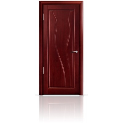 Межкомнатная Дверь Мильяна Ирен Красное дерево