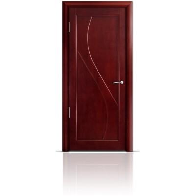 Межкомнатная Дверь Мильяна Яна Красное дерево