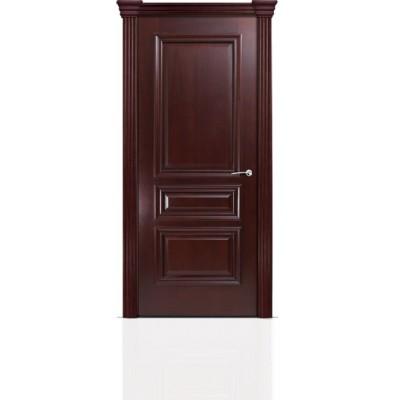 Межкомнатная Дверь Мильяна Бристоль Сити Красное дерево