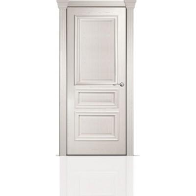 Межкомнатная Дверь Мильяна Бристоль Сити Ясень жемчуг