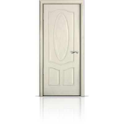 Межкомнатная Дверь Мильяна Барселона Ясень жемчуг