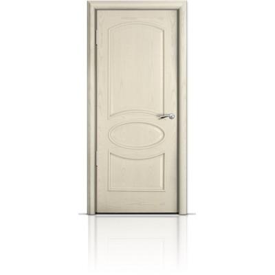 Межкомнатная Дверь Мильяна Рим Ясень жемчуг