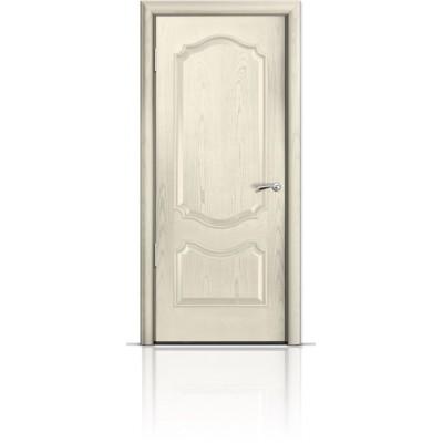 Межкомнатная Дверь Мильяна Милан Ясень жемчуг