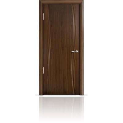 Межкомнатная Дверь Мильяна Омега Американский орех