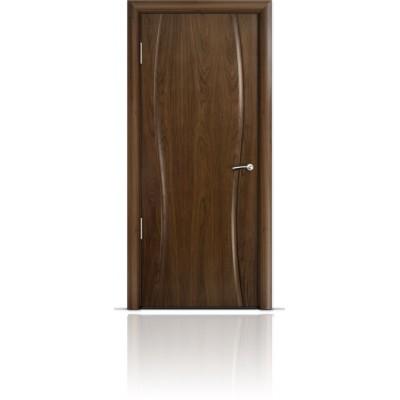 Межкомнатная Дверь Мильяна Омега-1 Американский орех