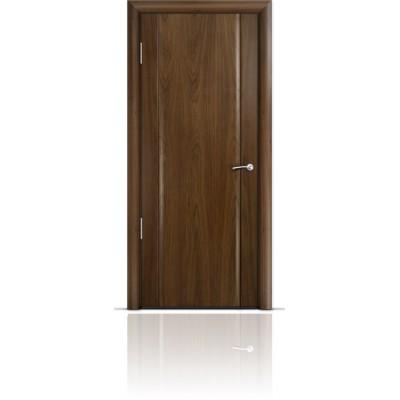 Межкомнатная Дверь Мильяна Омега-2 Американский орех