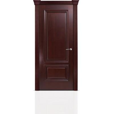 Межкомнатная Дверь Мильяна Бристоль Премиум Красное дерево
