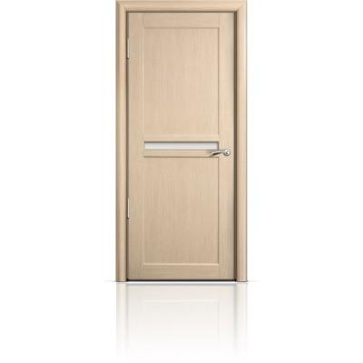 Межкомнатная Дверь Мильяна Натель-1 Беленый дуб