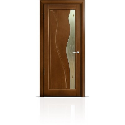 Межкомнатная Дверь Мильяна Ирен Анегри стекло бронзовое Ирен