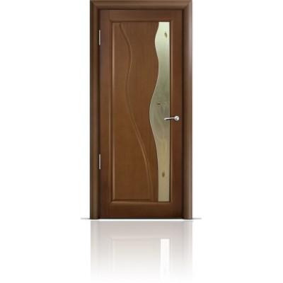 Межкомнатная Дверь Мильяна Ирен Палисандр стекло бронзовое Ирен