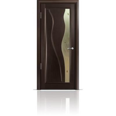 Межкомнатная Дверь Мильяна Ирен Венге стекло бронзовое Ирен