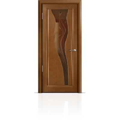Межкомнатная Дверь Мильяна Лантана Анегри стекло бронза Лантана