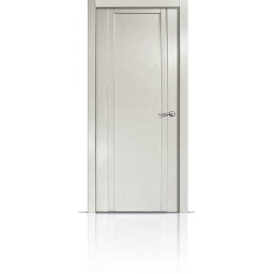 Межкомнатная Дверь Мильяна Qdo-H Ясень жемчуг
