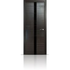 Дверь Мильяна ID-X Неро стекло черное