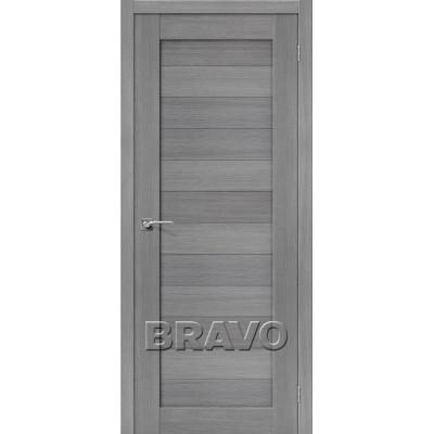 Межкомнатная Дверь Экошпон Порта-21 3D Grey