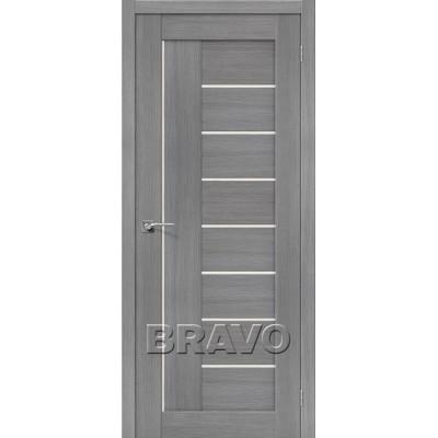 Межкомнатная Дверь Экошпон Порта-29 3D Grey