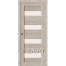 Двери Экошпон Порта-23 3D цвет капуччино