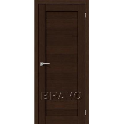 Межкомнатная Дверь Экошпон Порта-21 3D Wenge