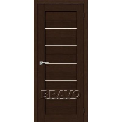 Межкомнатная Двери Экошпон Порта-22 цвет венге