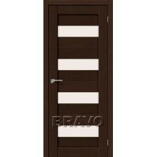 Двери Экошпон Порта-23 3D цвет венге