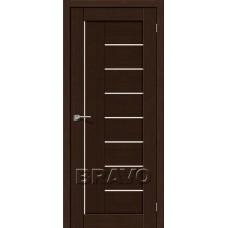 Двери Экошпон Порта-29 3D цвет венге