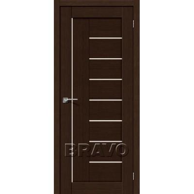 Межкомнатная Двери Экошпон Порта-29 3D цвет венге