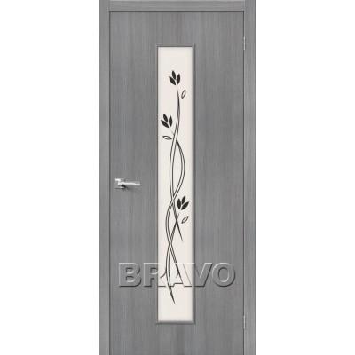 Межкомнатная Дверь Экошпон Тренд-14 3D Grey