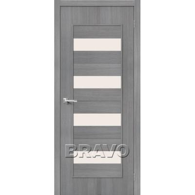 Межкомнатная Дверь Экошпон Тренд-23 3D Grey