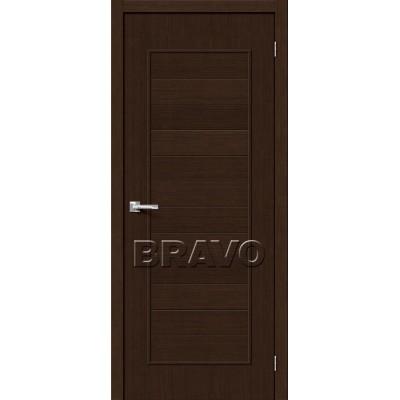 Межкомнатная Дверь Экошпон Тренд-21 3D Wenge